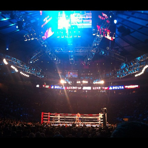 Msg Madison Square Garden Msg 365 Ny Sooc Boxing