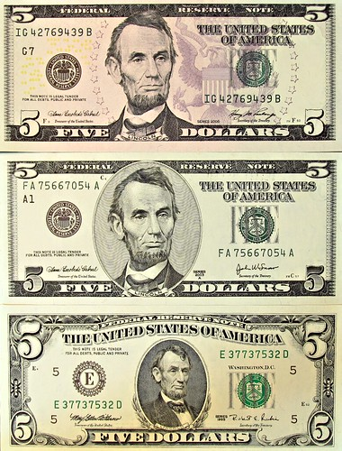 Five Dollar Bills | by The.Comedian