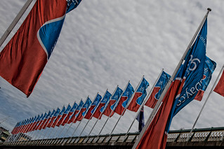 Pymont Bridge Flags | by Bliss Images