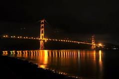 The Golden Gate Bridge -- (when it's actually golden) by scb.mypics