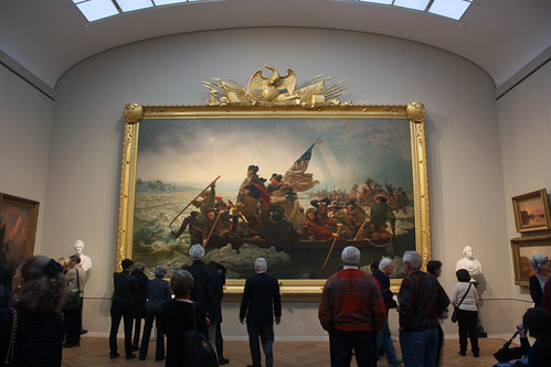Washington Crossing the Delaware by Emanuel Leutze | by peterjr1961