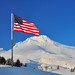 Old Glory at Mount Hood