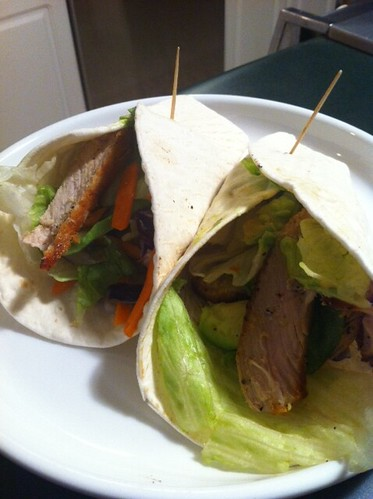 Pork wraps | by Busy Mom