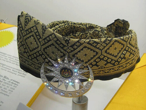 Malaysian king's headgear | by World of Royalty