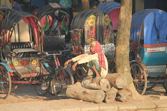 Squat and wait - around Barisal by s_andreja