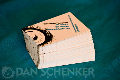 Dan Schenker Photography business cards | by Dan Schenker Photography