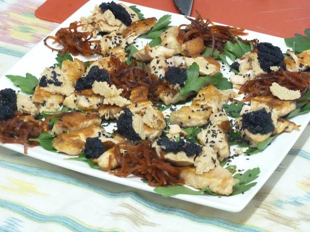 salmón al sésamo - cocina afrodisíaca
