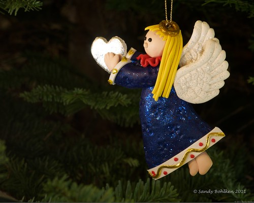 Blue Angel with the gift of love | by sandyb49