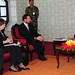 Helen Clark and Goodwill Ambassador Crown Prince Haakon in Nepal