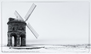 Chesterton Windmill in the Snow #4 Mono | by Stuart Leche
