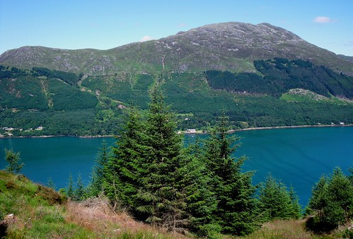 Loch Duich from the viewpoint on the Old Military Road 03, Highlands, Scotland | by Caledoniafan (Astrid)