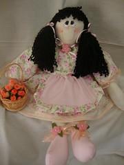 Juliana ...minha primeira boneca by Daia Patch e Afins