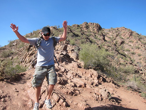 Camelback hike biking Scottsdale Jan 2012 013 | by jrodeffect