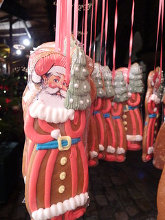 Santa gingerbread at Lubeck Christmas Market | by cybele-