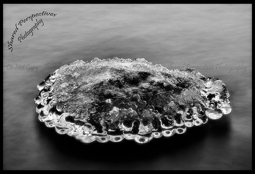 Frozen Island in the Abyss B&W | by sharedperspectivesphotography