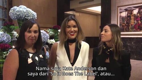 Wawancara dengan desainer dari Australia Selatan Kate Anderson, Paige Rowe, dan Julia Ritorto
