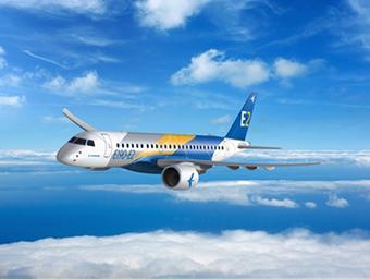 Embraer E190-E2 fly (Embraer)