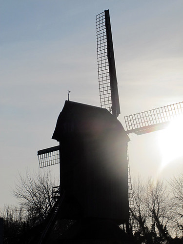 Windmill in Lille | by David Lebovitz