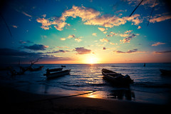 Sunset in Jamaica by hash trivial