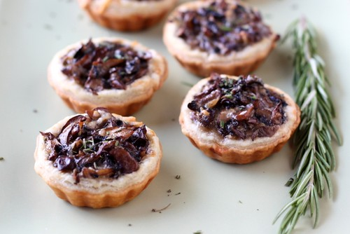 Mini Mushroom Tarts | by Completely Delicious