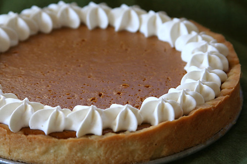 sour cream pumpkin tart 5 | by crumblycookie