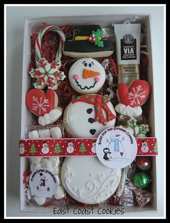 'Build your own Snowman' cookies | by Coastal Cookie Shoppe (was east coast cookies)
