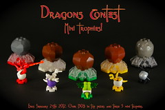 Mini Trophies (Dragons Contest) by Siercon and Coral