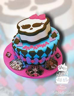 Monster High 9th Birthday | by FaithfullyCakes