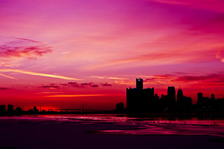 Detroit Sunset | by 1adamtwelve