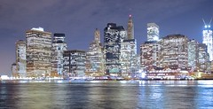 NYC from Dumbo by davidwattsjr