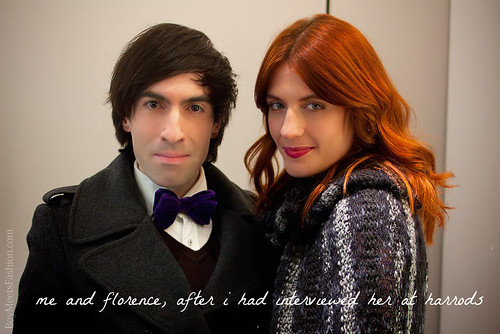 Florence Welch opens the Harrods Winter Sale 2011 | by jaimelondonboy