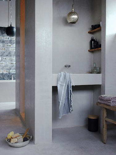 hamam style bathroom | by the style files