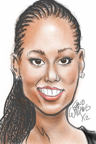 Alicia Keys by Gwiz | by Jamaicafunk