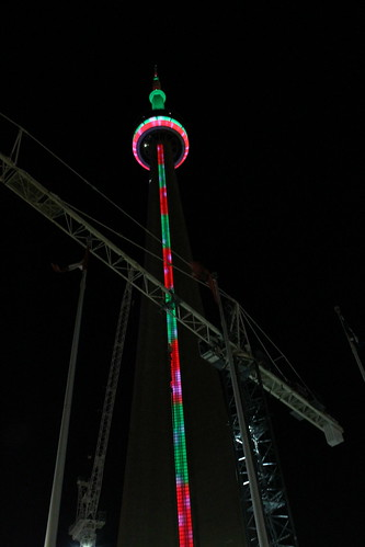 CN Tower Lights at Christmas | by xavdematos