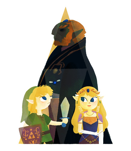 triforce | by irenafreitas