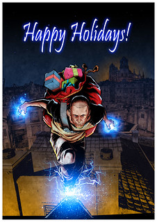 Holiday Card from Sucker Punch Productions | by PlayStation.Blog