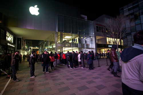 Beijing Apple Store iPhone 4s Release | by Liz Phung