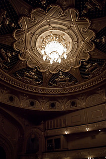 Ceiling of Ballet & Opera House, Kiev | by pianowow