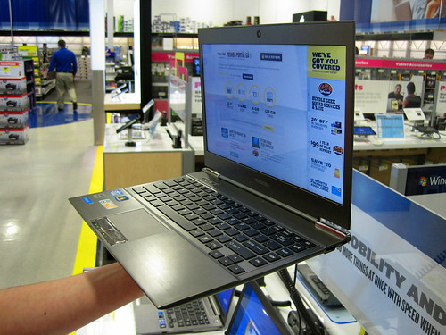 Toshiba Ultrabook | by IntelFreePress