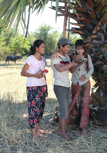 Loy9 Drama - Sina, Piseth, Linda making their film | by United Nations Development Programme