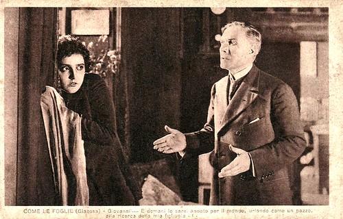 Maria Jacobini and Ignazio Lupi in Come le foglie
