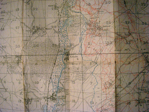 Trench Map 1916