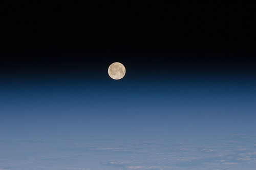 Moon and Earth's Atmosphere | by NASA Johnson