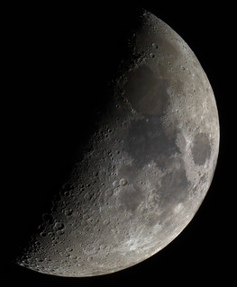 The Moon 300112 [explored] | by Mick Hyde