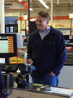 eBay CEO, John Donahoe, Visits Home Depot to pay with PayPal | by ebayink