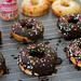 Chocolate-Glazed Funfetti Doughnuts - 6