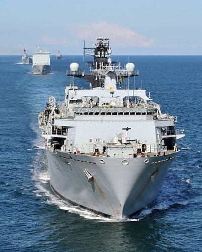 HMS Bulwark | by Defence Images