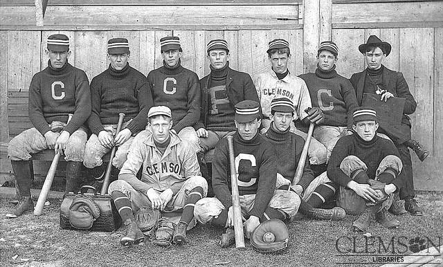 Clemson baseball team c1903