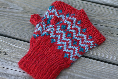Muckle Mitts for Nova | by add_knitter