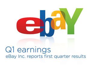 eBay Q1 Earnings graphic | by ebayink